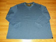 Men's Thermal shirt size 4XL brand new with Tags Color Medium Blue Big and tall