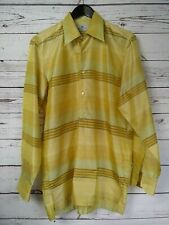 One of a Kind Vtg Etro Milano Silk Pullover Jumper Shirt Relaxed Fit Size 39
