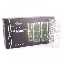 Jeray Original Products Mixology Tiki Hiball Glasses Pack of 4