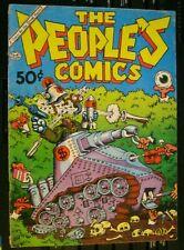 the PEOPLE'S COMICS 1st Ptg F+ 1972 R Crumb Harvey Pekar Golden Gate free ship