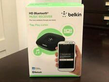 Belkin HD Bluetooth NFC Music Receiver TAP PLAY LISTEN Optical TOSLINK Coaxial