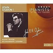 "CD x 2 PHILIPS Great Pianists 20th Century 72: 456 913-2 ""John Ogdon I"" Alkan..."