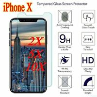 iPhone X & iPhone XS 9H Premium Tempered Glass Screen Protector 2.5D 0.26mm
