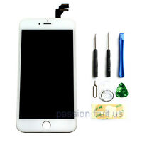 """White Replacement LCD Screen Touch Digitizer Frame Assembly iPhone 6 Plus 5.5"""""""