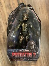 "NECA PREDATOR 2 Series 4 UNMASKED CITY HUNTER FIGURE 7"" Lost Tribe Rare"