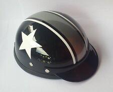 Helmet Hat Cap Dog Cat Costume Accessory Pet Supplies Safety White Star Black