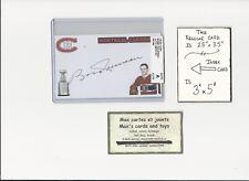Bobby Rousseau Montreal Canadiens AUTOGRAPH AUTO INDEX HOCKEY CARD 100% COA