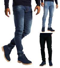 Mens Stretch Slim Fit Jeans Skinny Fashionable 5 Pocket Denim Pants