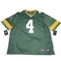 NWT Nike Green Bay Packers Brett Favre Jersey 3XL HOF On Field NFL Throwback 4