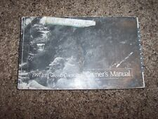 1997 Jeep Grand Cherokee Owner Operator Manual Laredo Limited Orvis TSi V8 6Cyl