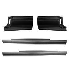 94-01 KIT Dodge Extended Cab Corners & Slip-On Rockers, Ram Truck, Club Cab L&R