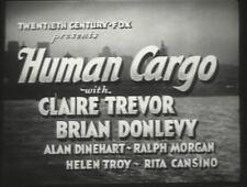HUMAN CARGO 1936 (DVD) CLAIRE TREVOR, BRIAN DONLEVY, RITA HAYWORTH