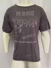 VINTAGE LOOKING THE BEATLES CREW NECK T-SHIRT PLEASE PLEASE ME! 1963 VIC-THOR1