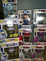 Funko Pop! Marvel lot thanos daredevil vision korg coulson ultron 53 119 71 83