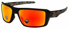 Oakley Double Edge Sunglasses OO9380-2366 Black Prizmatic | Prizm Ruby Polarized
