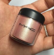 RARE BNIB MAC PIGMENT *Deckchair* Eyeshadow Peachy Pink 7.5g NEW IN BOX HTF