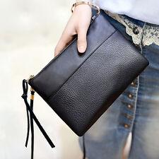New Women Girls Clutch Bag PU Leather Purse Handbags Flap Messenger Shoulder Bag
