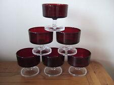 France Ruby Glassware