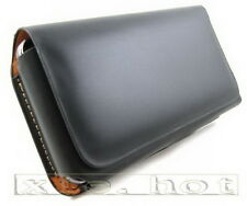 New Black Leather Case Cover Pocket For iPhone 5 5s