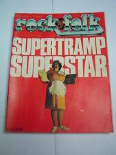 Rock & Folk 1979 155 SUPERTRAMP KINKS FLEETWOOD MAC JACQUES HIGELIN
