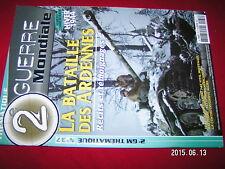 ¤¤ Revue 2e Guerre Mondiale Thematique n°37 Bataille Ardennes Hiver 1944