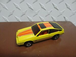 Loose Hot Wheels Yellow Pontiac J2000 w/Blackwall Wheels