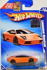 HOT WHEELS 2009 DREAM GARAGE LAMBORGHINI MURCIELAGO #04/10 ORANGE FACTORY SEALED