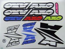 New AXO Sticker Kit Motocross Universal Decals EXC SXF RMZ DR WR WRF DTR KMX RS