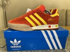 Adidas Kegler Super Size 8 80s Football Casuals Red & Yellow Deadstock
