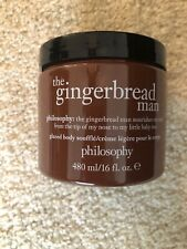 Philosophy Gingerbread Man Glazed Body Souffle Cream 16 Oz