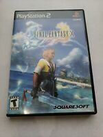 Final Fantasy X 10 (PlayStation 2 PS2 Game) Complete With Manual CIB Black Label