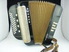 Hohner Overture diatonisch Akkordeon Harmonika Knopfakkordeon diatonic accordeon