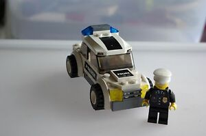 Lego City Police Car with figure