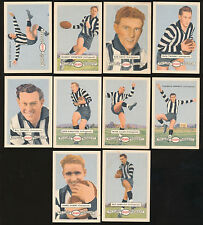 1958 Atlantic Petrol Collingwood Team Set 10 Cards Picture Pageant Card