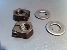VW Beetle And Ghia Spindle Nuts. (65-77)