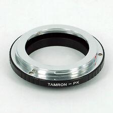 Tamron Adaptall 2 Lens to Pentax PK Mount Adapter K30 K-R K52 K-5 K-7 KM K5 KR