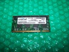 512 MB cruciale 333 MHZ PC2700 200PIN SODIMM Laptop Memory