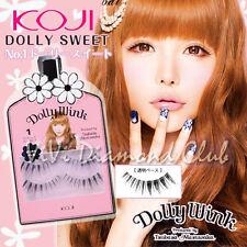 KOJI Dolly Wink False Eyelashes No.1 Dolly Sweet 2pairs