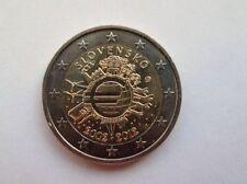 ESLOVAQUIA 2 EUROS 2012 TYE - 10 AÑOS DEL EURO