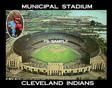 Cleveland Indians - MUNICIPAL STADIUM - Fridge Magnet
