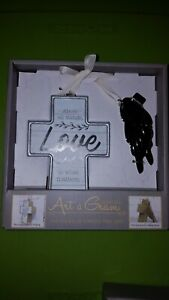 """Art A Gram  """"Above All Things, LOVE is what matters"""" hang or tabletop display F1"""