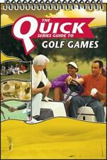 The Quick Series Guide to Golf Games [Spiral-bound] Luxart Communications