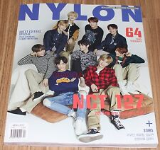 NYLON NCT127 NCT 127 GUGUDAN KOREA ISSUE MAGAZINE 2017 APR APRIL NEW