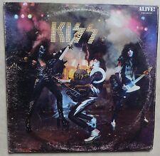VINYLE DOUBLE 33 TOURS KISS ALIVE CASABLANCA 6640026 FR 1980 2 X LP
