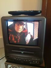 "9"" DVD/TV Combo Color Television w/ Remote TVDVD091A Gaming home RV Boat"