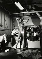 """Photographie, """"Domestic nude"""", 1990    /  Hommage à Helmut Newton   /   15 x 20"""