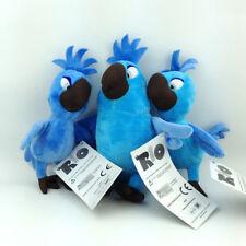 3X Rio the Movie Carla Bia Tiago Plush Toy Babies Blu Jewel Birds Stuffed Animal