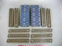 AJ649-1# 20x Märklin H0/AC/00 Gleisstück M-Gleis gerade f. 3600/800 Hohlprofil