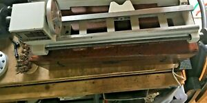 EMCO 3 LATHE.  BASE-HEAD STOCK-1 X PULLEY-1 PLATE HOLDER, L-SCREW/HANDLE