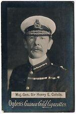 Vintage Ogden's Guinea Gold Cigarettes Major Sir Henry E. Colvile Tobacco Card